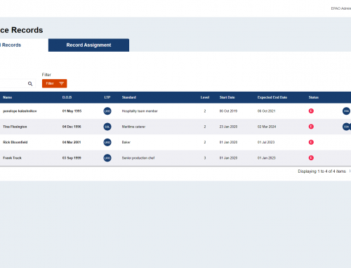 New feature added: End Point Assessment Resit Requests