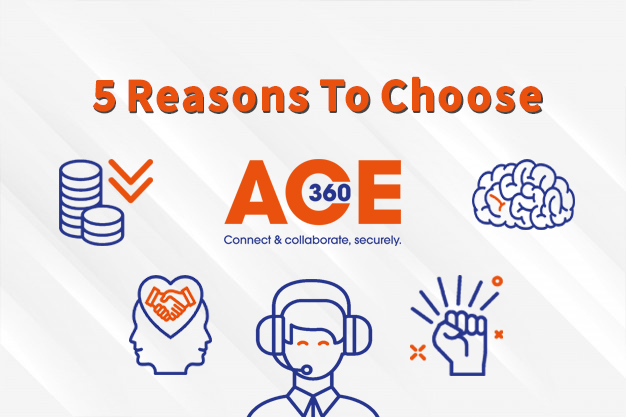 5 Reasons to choose ace360