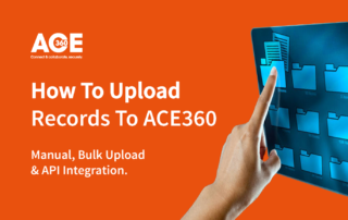 How to upload records to ace360