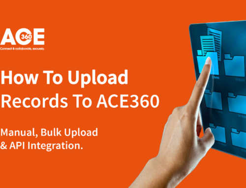 How To Upload Records To ACE360 | Buy Tokens Today
